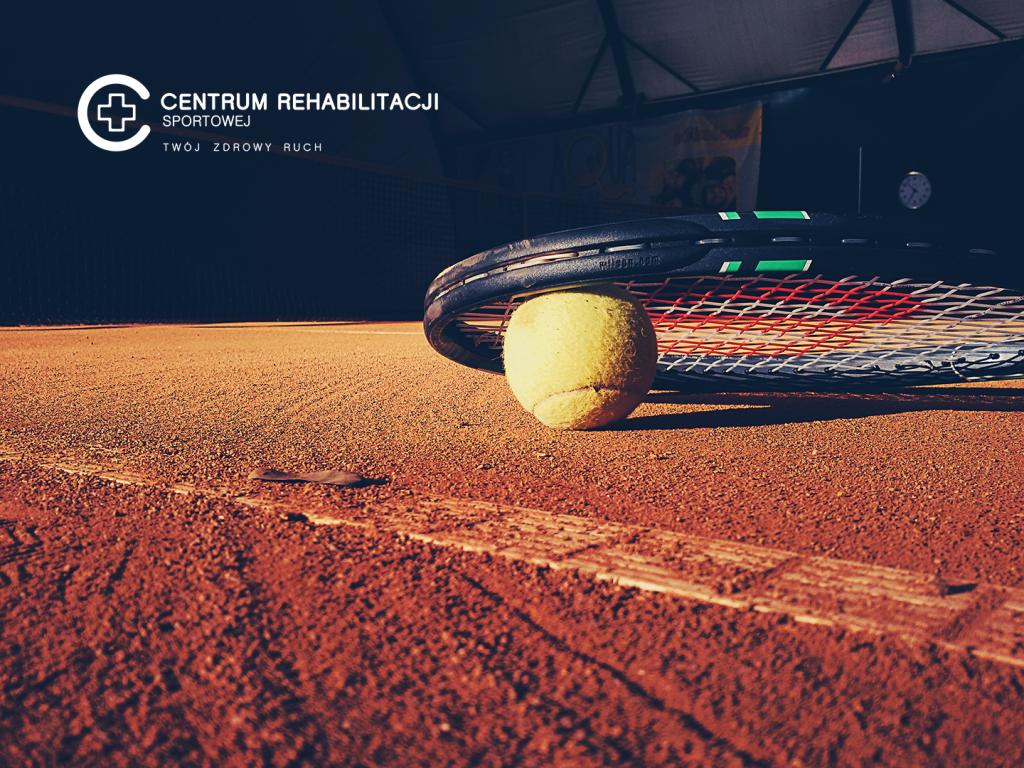 Urazy w tenisie, rakieta i piłeczka tenisowa